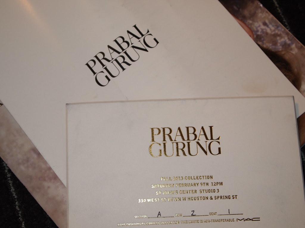 Prabal Gurung FW13
