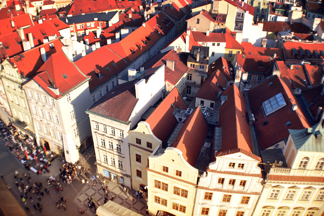Prague Old Town From Above 6