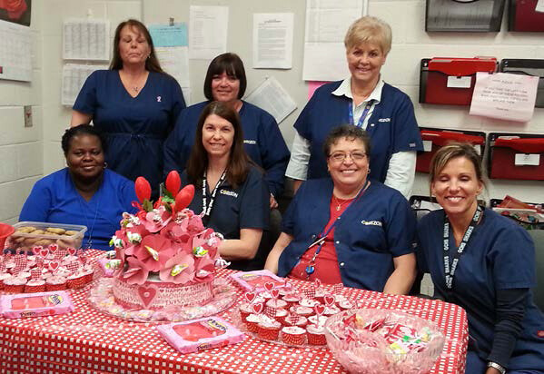 Corizon at Collier County Jail shows the LOVE for its employees