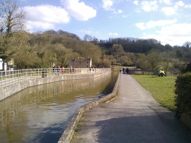 The Avoncliff Aqueduct Bath to Bradford-upon-Avon walk