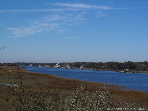 Another view of the Intercoastal Waterway from the Marsh Loops on Holden Beach, North Carolina