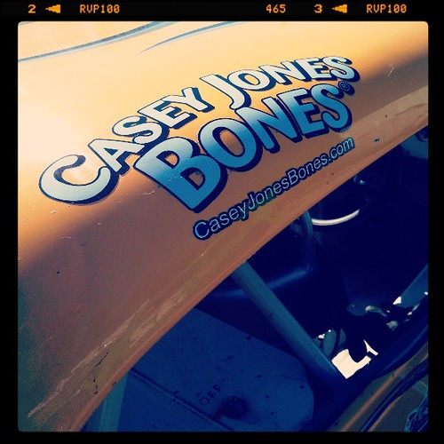Welcome #CaseyJonesBones on the #8 #dogtreats #uslegends #racecar #racing