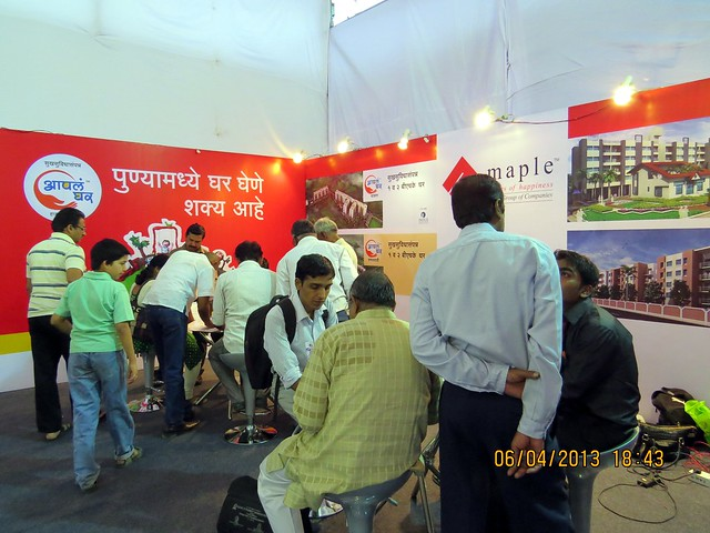 Maple Shelters Aapla Ghar Housing Colony - Maharashtra Times Pune Property Show April 2013