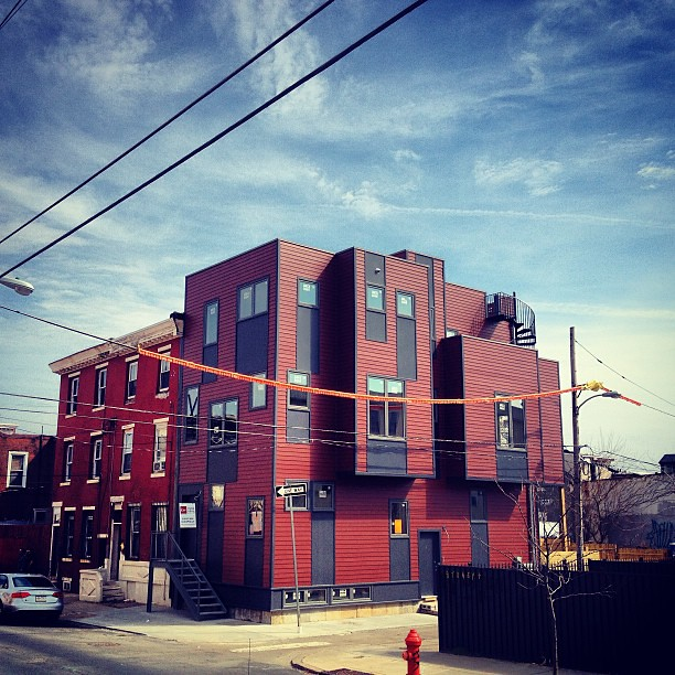 #Duplexcellence exterior complete. #postgreenhomes  #kensington #philly #ManifestAD