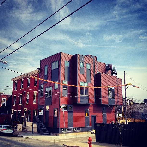 #Duplexcellence exterior complete. #postgreenhomes  #kensington #philly #ManifestAD