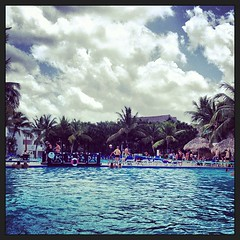Day 91: Hanging out poolside at a resort in La Romana, Dominican Republic #lateday91 #365pics #april1 #latepicoftheday #swandsa #nointernetaccess
