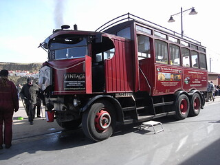 Elizabeth the steam bus