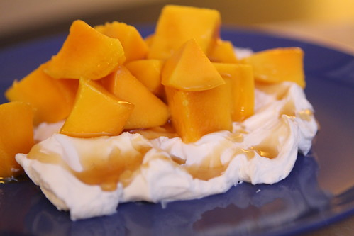 Labne with Mango and Yogurt