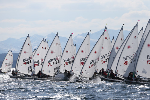 The RYA Youth National Championships 2013 at Largs from the 1st-5th April
