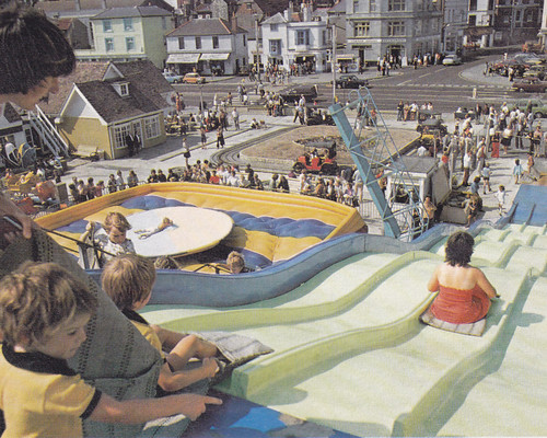 Playland, Hastings Old Town 1980s