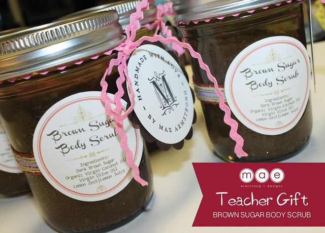 Teacher Gift - Brown Sugar Body Scrub4