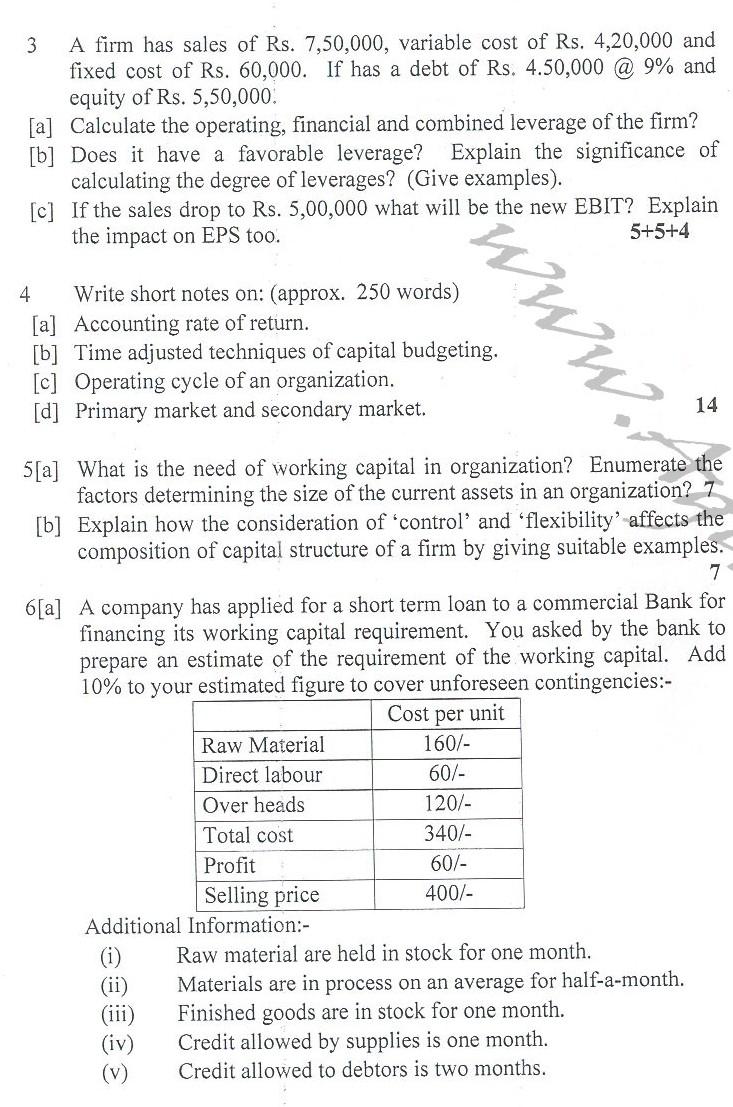 DTU Question Papers 2010 – 8 Semester - End Sem - IT-413