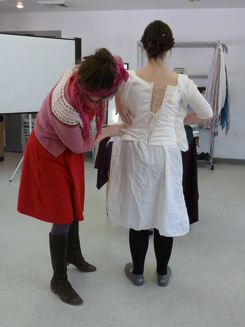 B&T corded corset workshop 9