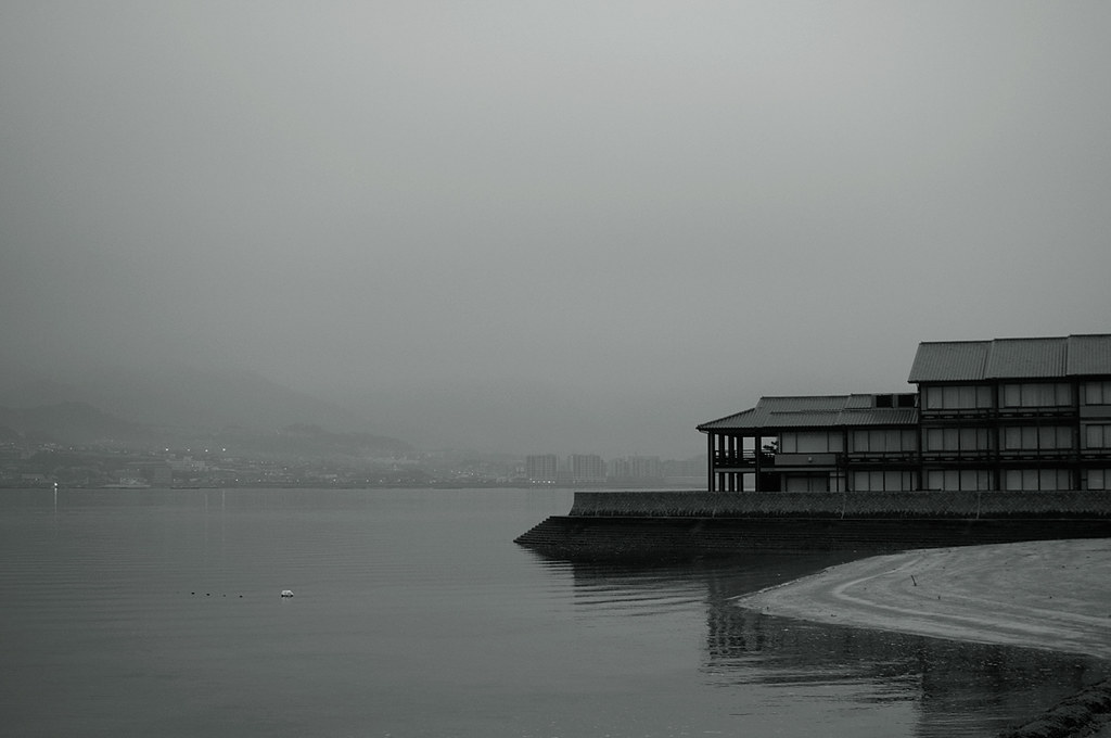 an early morning at Miyajima