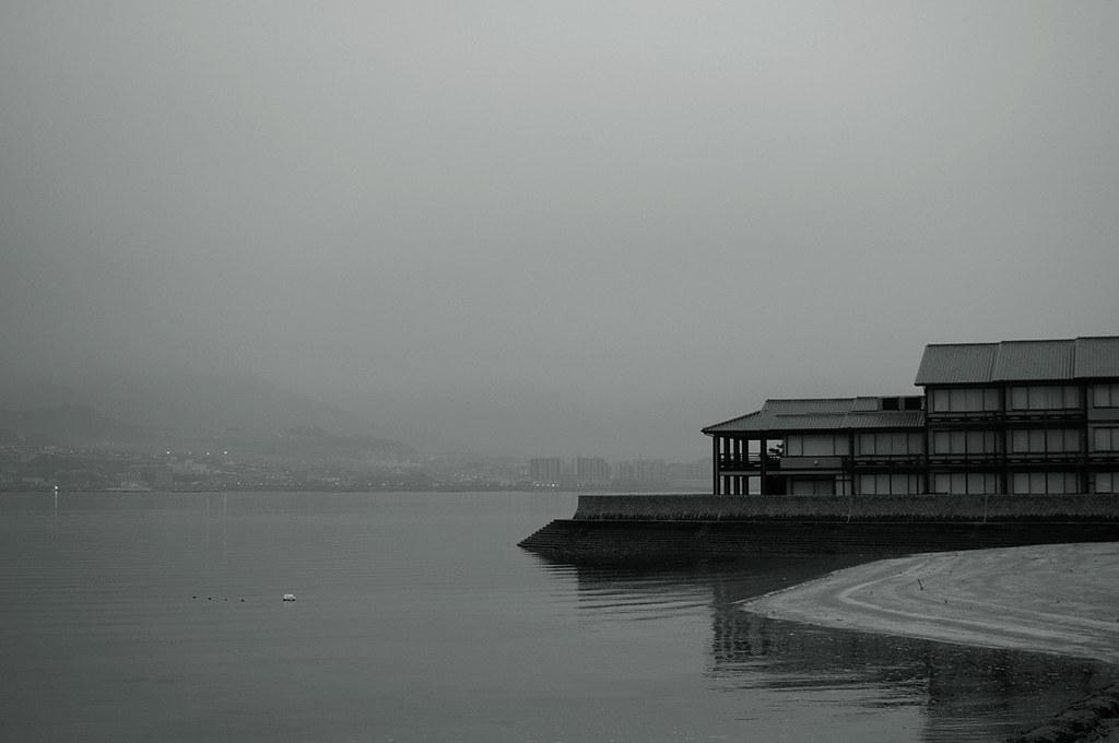 an early morning at Miyajima