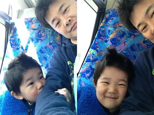 ハチ公バスにて 2013/4/11