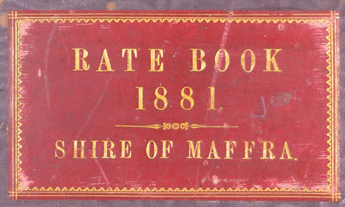 MSC Rate Book 1881 cover