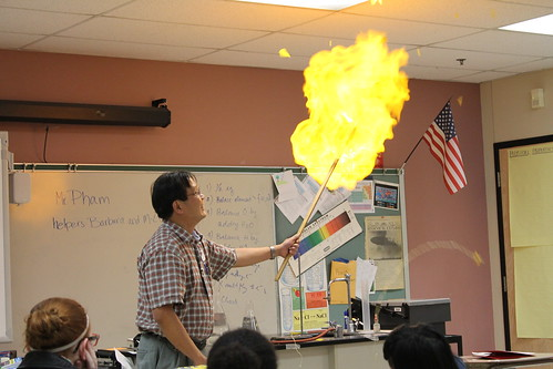 Mr. Pham's demonstration at the 2013 FIST Conference