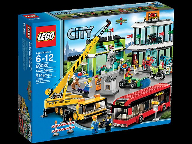 LEGO City 60026 - Town Square - BoxArt