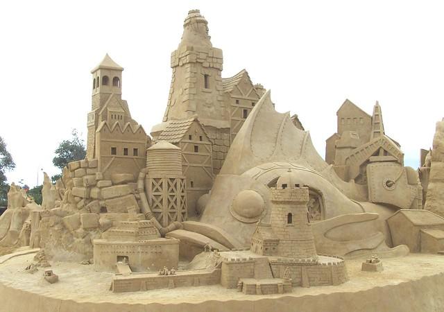 Under The Sea Sand Sculptures 2013