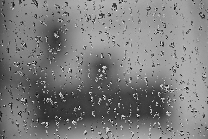 Rain, rain and more rain.