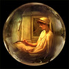 A Summer's afternoon, a sphere based on the painting by Poynter