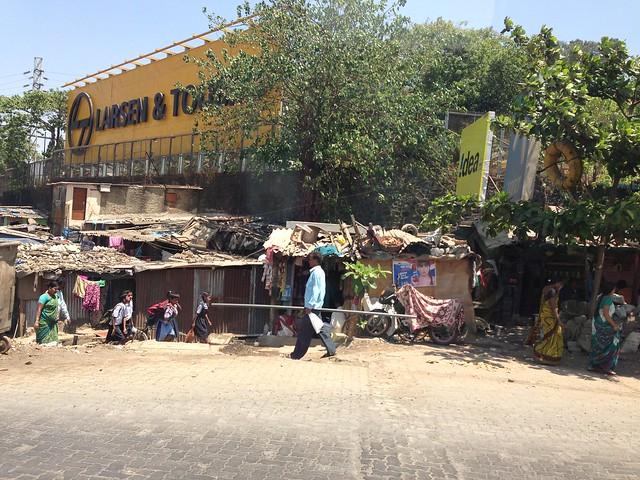 India Shack Slum