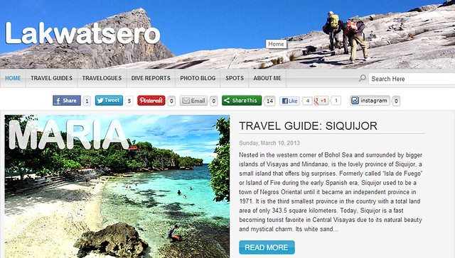 Top 15 Philippine Travel Blogs for 2013