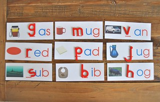 Moveable Alphabet Exercise