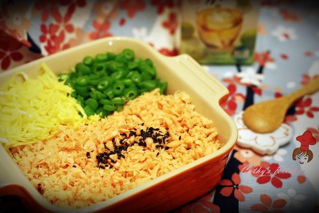 和風鮭魚拌飯 Japanese Salmon Rice 5