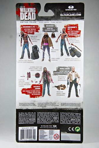 The Walking Dead Series 3: cardback