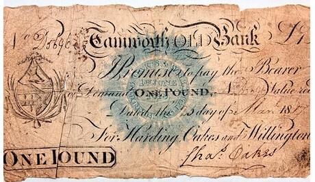Tamworth banknote