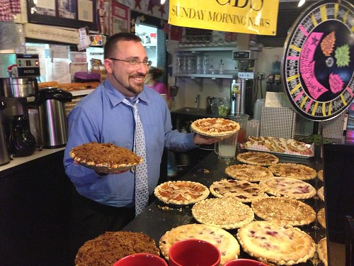 Steve With Pies