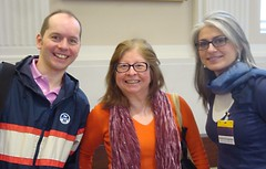 Smiles of three Toastmasters from London by Julie70
