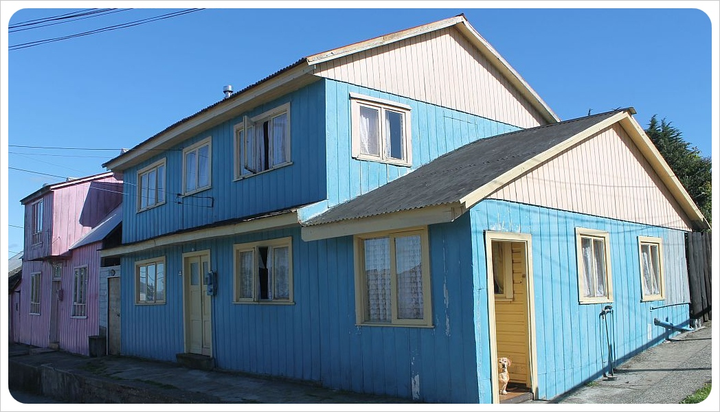 ancud blue house