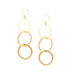 Victoria Ibiza Triple Interlaced Circle Earrings - SHOP NOW!