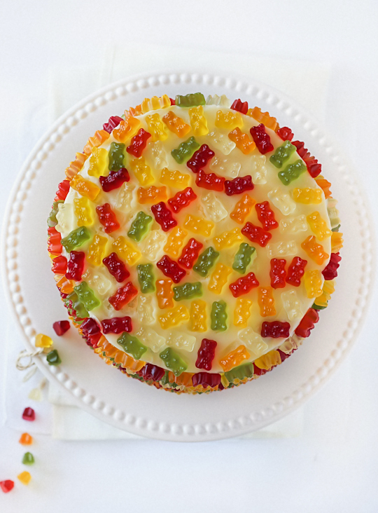 Gummy Candy Cake Decoration