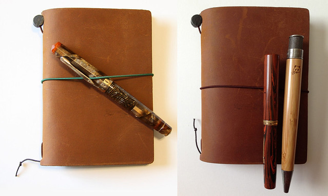 Midori STAR Traveler's Notebook With Pens