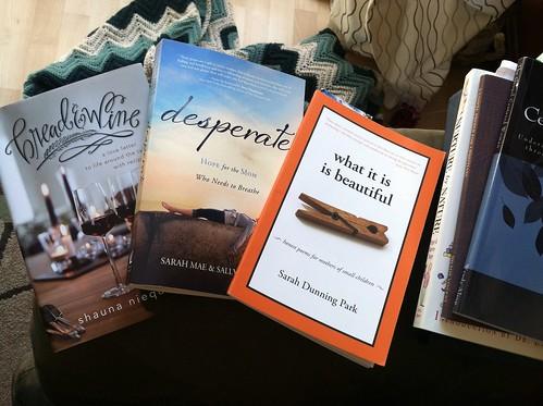 7 books I'm reading