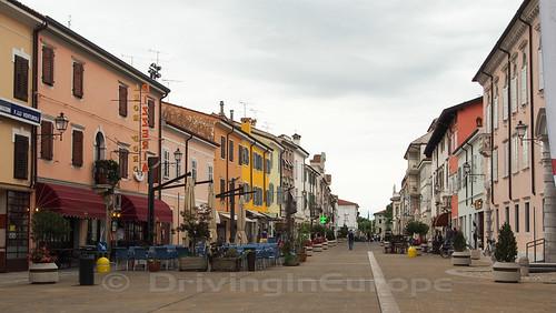街の中心部