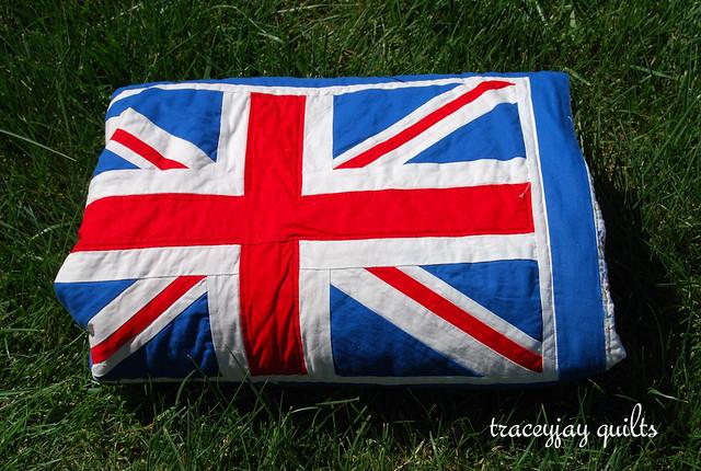 Union Jack quilt