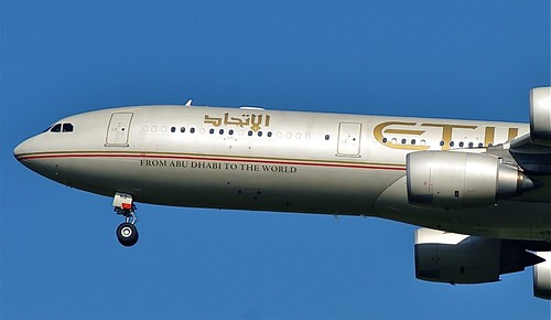 A6-EHD A.340-500  Etihad Airways