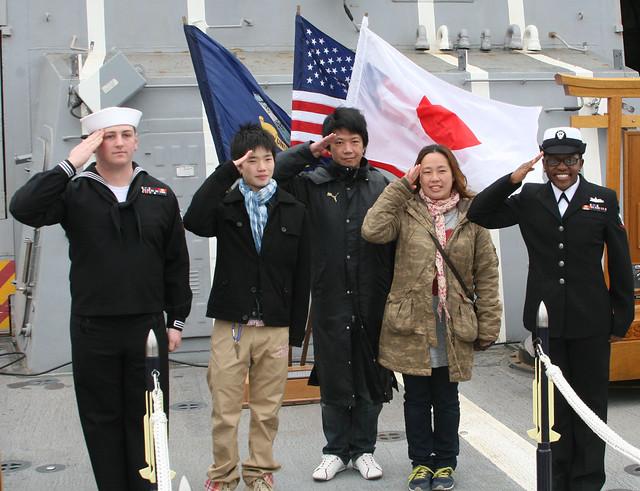 USS Mustin Hosts CFAY Spring Festival