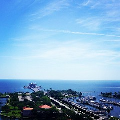 #st #pete #florida #wouldratherbeoutside #sun #viewfromthetop #officewithaview #downtown