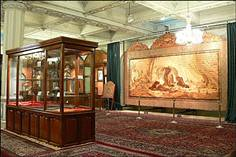 Iran museum coin exhibit