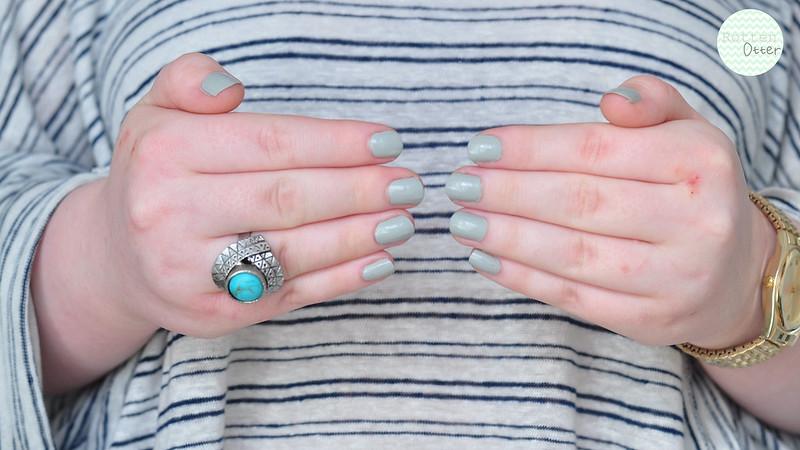 nubar citadel notd nail polish grey creme swatch rottenotter rotten otter blog 2