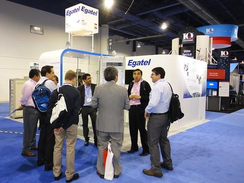 Egatel presenta una tecnología que mejora el rendimiento de los transmisores