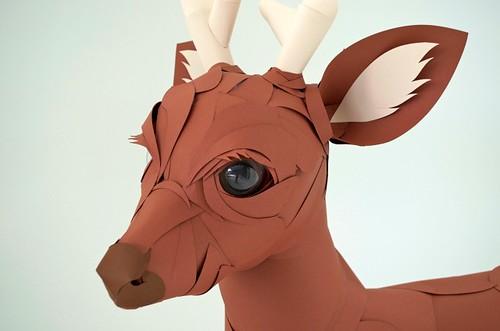 paper-sculpture-deer