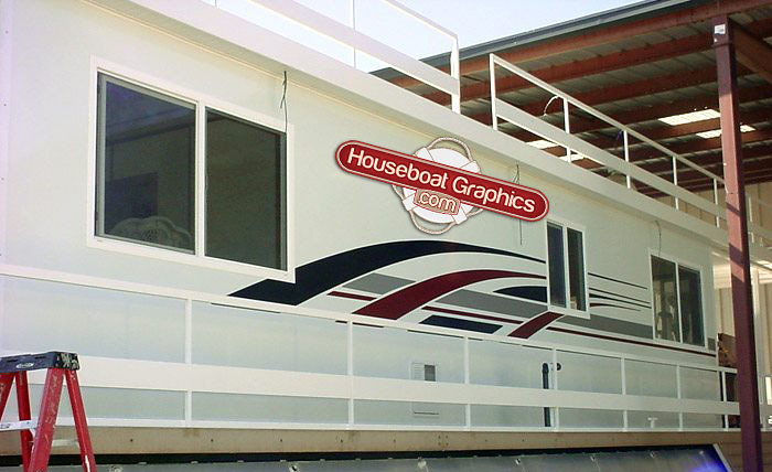 Flickr Photos Tagged Boatdecal Picssr - Custom houseboat vinyl decals