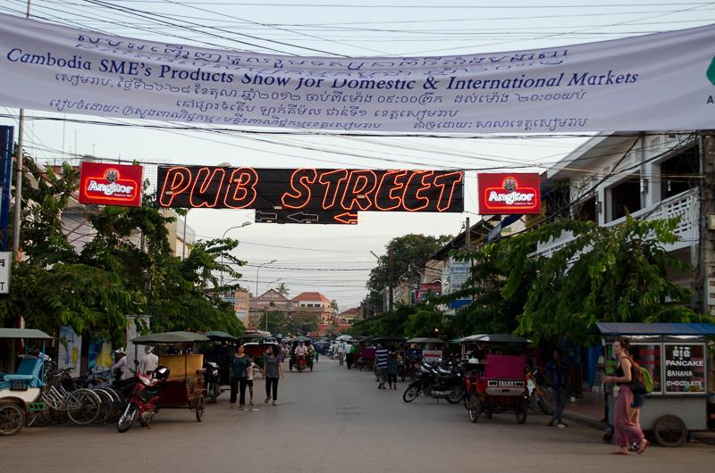 Pub Street - Cambodia - Daytime